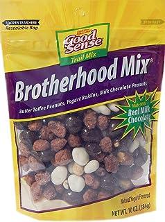Good Sense Trail Mix, Brotherhood Mix, 10-Ounce Bags (Pack of 12)