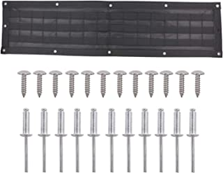 Deurreli 多機能ツール収納バッグ ジムニー JB64 JB74に適用 収納ツール 工具整理 テールゲート 収納力アップ ブラック