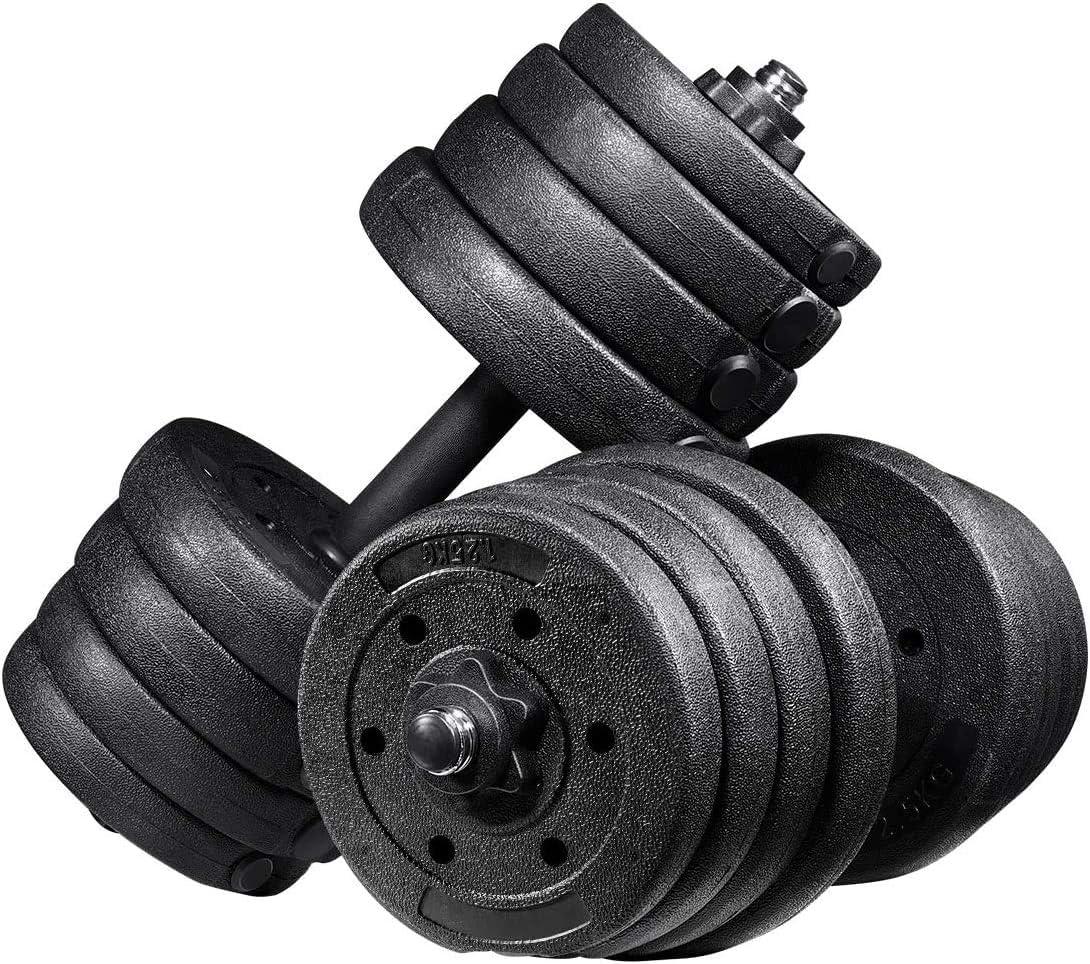 Garneck Weight Dumbbells Discount is also underway Set Fitness Adjustable Regular store Barbel