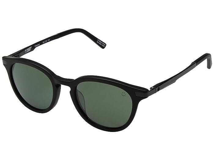 Spy Optic Pismo (Matte Black/Happy Gray Green Polar) Sport Sunglasses