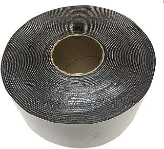 EWT Asphalt Tarmac Parking lot Joint and Crack Sealer Repair Filler Tape Wide & 50 FT Long (4 inchs)