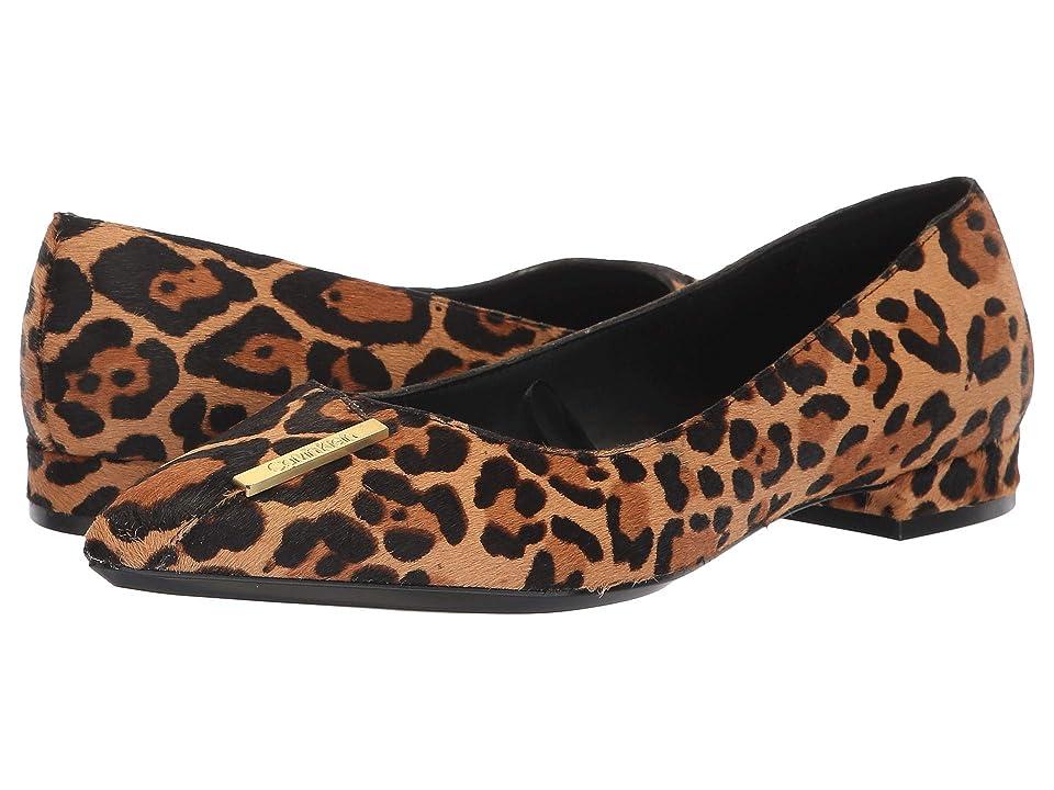 ef2a259c6d8 Calvin Klein Arline (Natural Winter Leopard Haircalf) Women