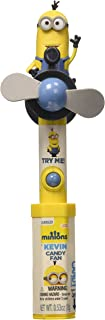 CandyRific Minions Candy Character Fan, 0.53 Ounce