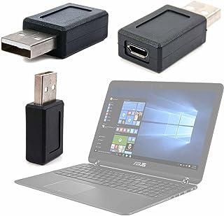 DURAGADGET Adaptador USB (Macho) A Micro USB (Hembra) para Portátil ASUS Zenbook Flip UX560UQ-FZ058T / ASUS Zenbook Flip UX560UX-FZ039T