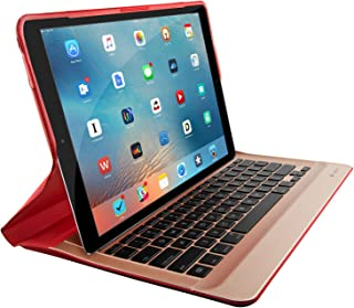 Logitech Create Backlit Keyboard Case with Smart Connector for iPad Pro (12.9-Inch) - Red (Renewed)