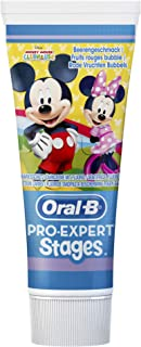 Crest Mickey Mouse Toothpaste for Kids, Ages 3+, Strawberry, 4.2 Oz (119g)