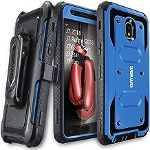 Galaxy J7 2018/J7 Refine/J7V 2nd Gen/J7 Star/J7 Top/J7 Crown Case, COVRWARE [Aegis Series] w/Built-in [Screen Protector] Heavy Duty Full-Body Armor Case [Belt Clip Holster][Kickstand], Blue