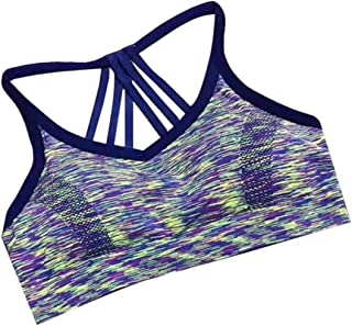 Women Fitness Breathable Workout Activewear Support High Impact Sports Bra