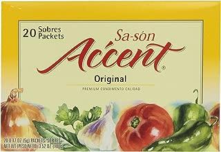 Ac'cent Sazon Regular, 3.5200-ounces (Pack of6)