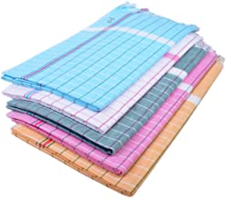 Sathiyas Sunrise Cotton Blend Bath Towel -Pack of 5 (33 x 66 Inch)