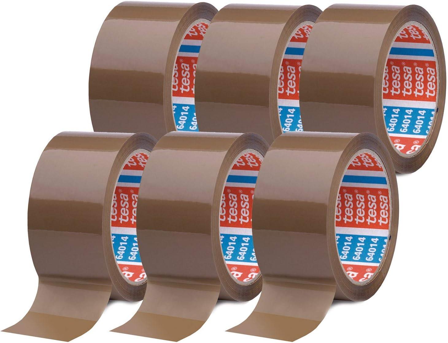 tesapack 20 im 20er Pack   Geräuscharmes Paketklebeband zum ...