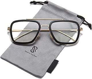 Polarized Sunglasses for Men Women Retro Aviator Square...