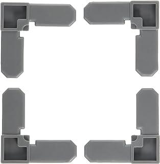 PRIME LINE Products PL 14258 100PK 3/4x7/16 Corner, 3/4 x 7/16, Gray