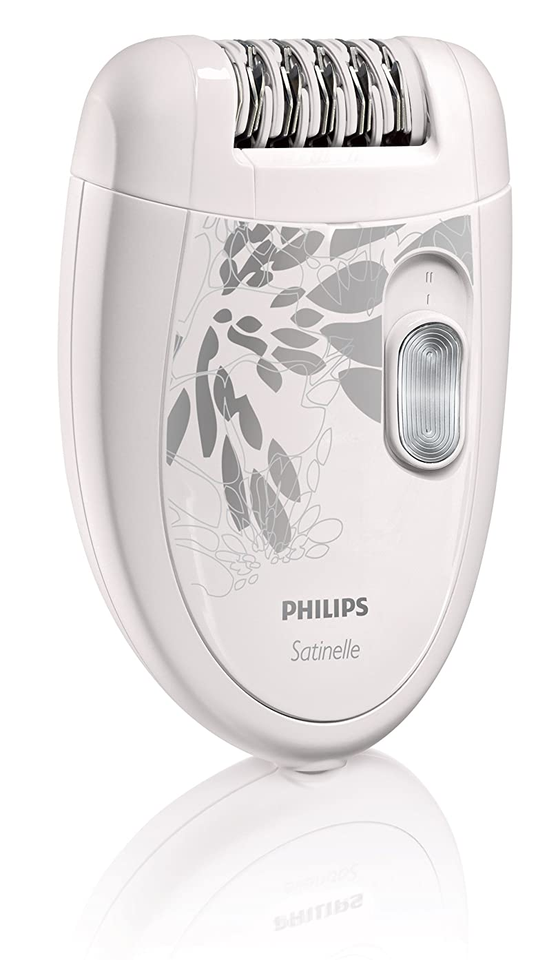 手錠時々時々彫る【並行輸入品】Philips HP6401 Satinelle Epilator White/Gray
