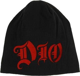 e98a1b32766 Dio Holy Diver Dual Sided Beanie Hat Band Art Logo Heavy Metal Music Skull  Cap