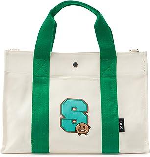 BT21 Official Merchandise for Line Friends - Character Canvas Messenger Tote Bag