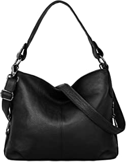 Genuine Leather Shoulder Bag Stylish Womens Tote Travel Top-Handle