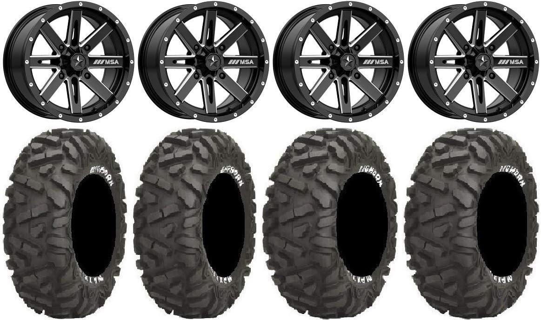 Bundle Bargain - 9 Items: MSA Milled Boxer Luxury goods Ti Wheels ATV BigHorn 14