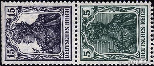 Prophila Collection Deutsches Reich S6ab geprüft 1918 Germania (Briefmarken für Sammler)