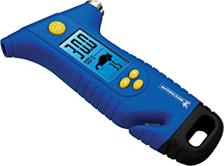 MICHELIN MN-4205B Programmable Tire Gauge with Emergency Hammer and Seat Belt Cutter