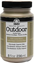FolkArt Outdoor Paint in Assorted Colors (8 oz), Sandy Beach