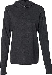 Bella 3512 Unisex Jersey Long Sleeve Hoodie - Asphalt44; Small