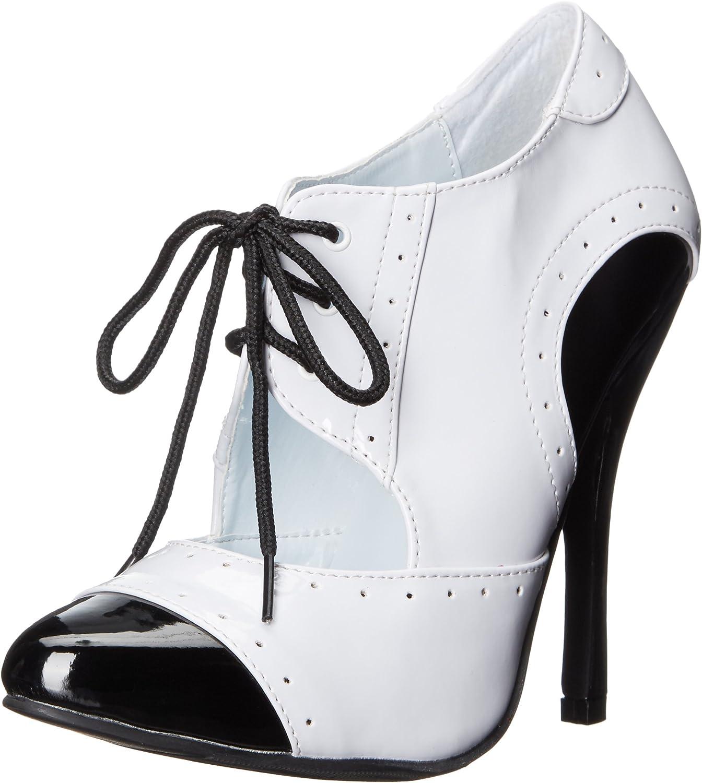 Ellie shoes Women's 511-Gangster Slide Pump, Black, 7 M US