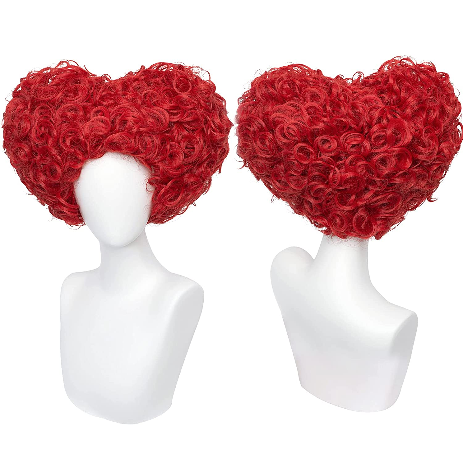 Labeauté Women Red Queen of Heart Curly Synthetic Ranking TOP7 H Lowest price challenge Fuffy wig