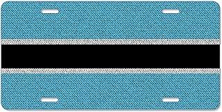 Kefanlk Flags Botswana License Plate Frame Theft-proof Frames Aluminum Board Frames For Men Women