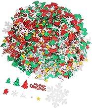TOYMYTOY Merry Christmas Confetti DIY Winter Holiday Tabletop Shiny Confetti Sprinkles Sequins Xmas Desktop Seasonal Decor...