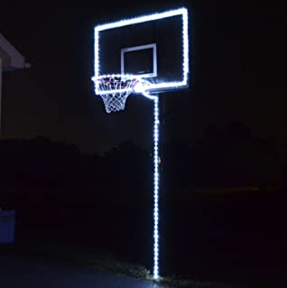 GlowCity Light Up Basketball Hoop Lighting kit(Light Up Basketball Not Inlcuded)