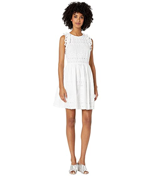 Kate Spade New York Eyelet Mini Dress