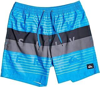 "Quiksilver Men's Word Block 17"" - Swim Shorts for Men Swim Shorts"