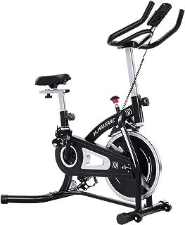 MaxKare Exercise Bike Stationary Bike Cycling Bike Belt Drive with Magnetic Resistance Bike Computer Ipad Holder for Home Workout Bike Training