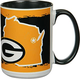 Green Bay Packers Personalized Custom Thermal Football Mug 30oz /& 12oz