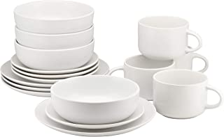 Best matte white dinnerware Reviews