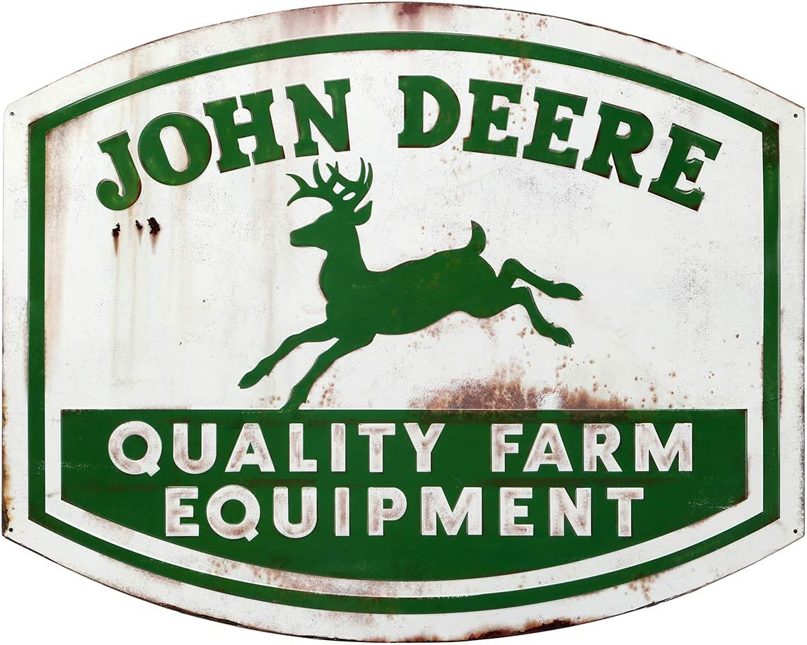 John Deere Quality Farm Equipment High Sign 2021 new Gloss Die Metal Ranking TOP4 Cut
