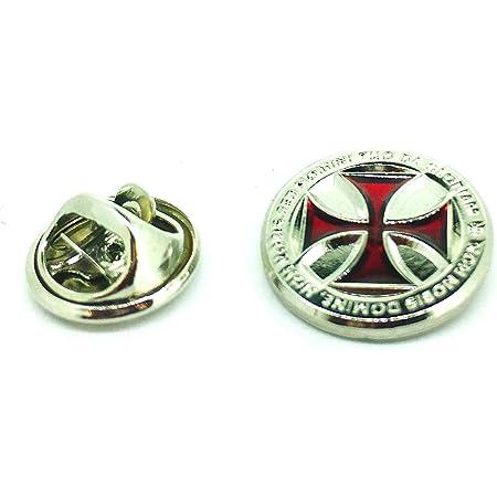 Gemelolandia | Pin de Solapa Cruz Templaria Non Nobis | Pines Originales Para Regalar | Para las Camisas, la Ropa o para tu Mochila | Detalles Divertidos