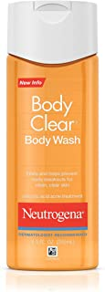 Neutrogena Body Clear Body Wash for Clean, Clear Skin, 8.5 Ounce Original Body Wash (Pack of 1)