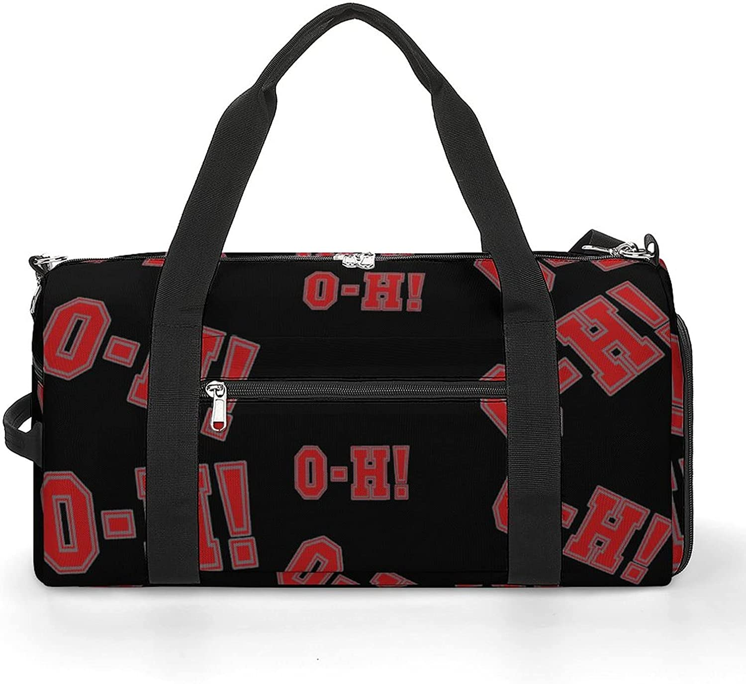 Funny Ohio State O-H Sports Gym Max 76% OFF With Bag Shoes Compartment Light Brand Cheap Sale Venue