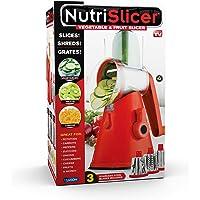 Deals on NUTRISLICER 3-in1 Kitchen Spinning/Rotating Food Slicer