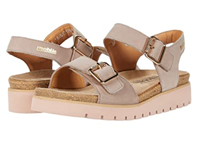 Mephisto Tarina (Light Taupe Bucksoft) Women