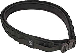 Grey Ghost Gear 7013-2 UGF Battle Belt with Padded Inner, Black, Large