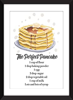 The Perfect Pancake - Unframed Print/Sin Marco