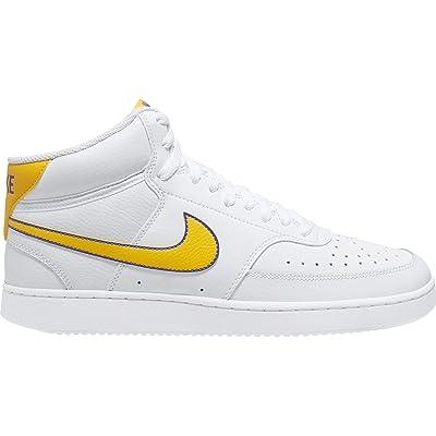 Nike Court Vision Mid (White/University Gold/Persian Violet) Men