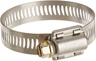 Breeze Power-Seal Stainless Steel Hose Clamp, Worm-Drive, SAE Size 24, 1-1/16