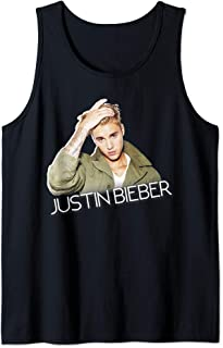 Justin Bieber Official Cut Out Jacket Tank Top