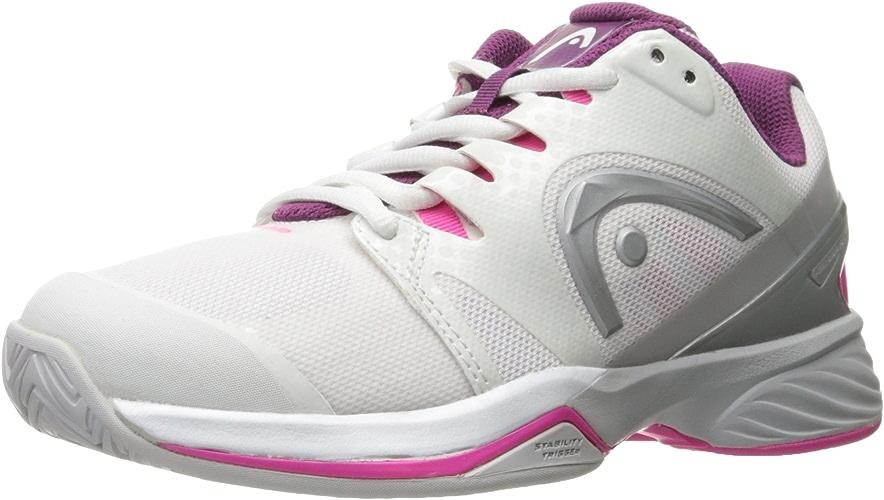 HEAD - Nitro Pro Chaussures de Tennis pour Femmes (Blanc Mauve)