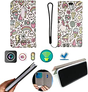 FY Flip Case For Tecno Spark 4 Lite Cover Flip PU Leather + Silicone Ring case Fixed BDJS