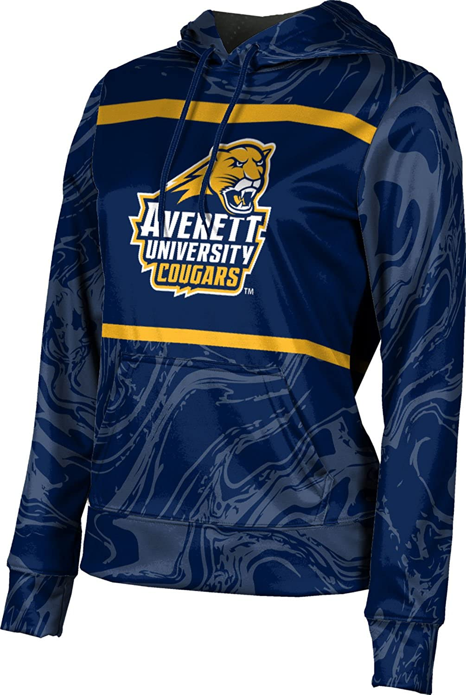 ProSphere Averett University Girls' Pullover Hoodie, School Spirit Sweatshirt (Ripple)